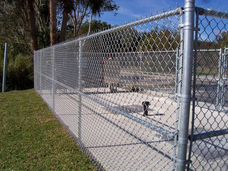 Anti-Intruder Mesh Fence – High Security Protective Level and Rust