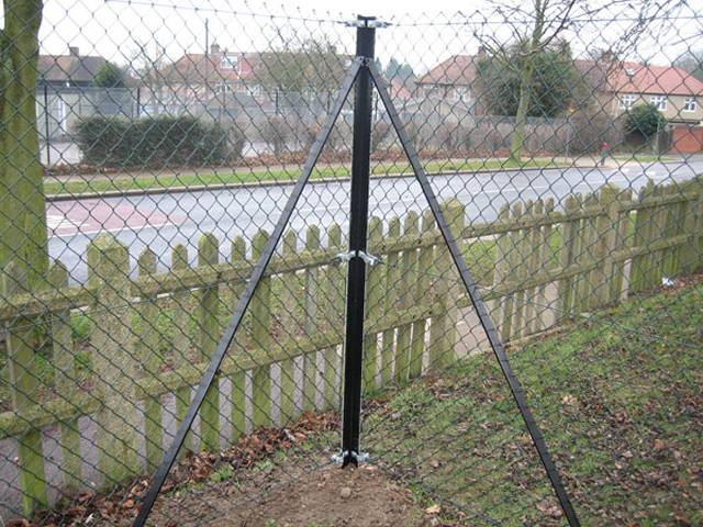 Anti Intruder Mesh Fence High Security Protective Level