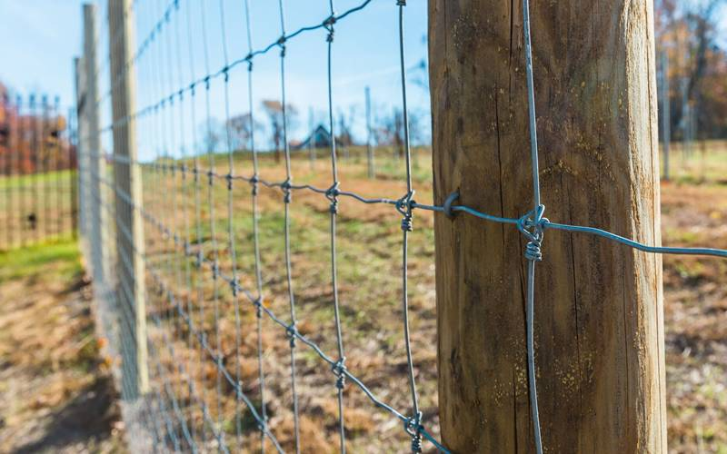 Field Fence Types Applications Classifications Features